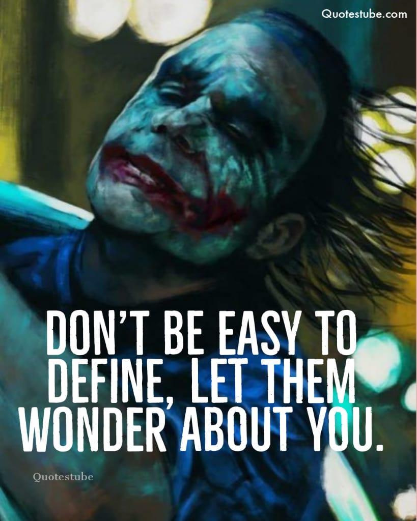 the joker lines 6